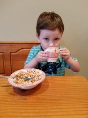 cheerios and chai