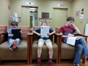 schooling at the hospital