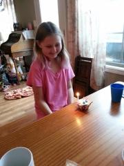 Sparkles and birthday cupcake