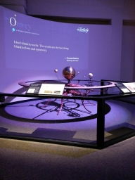 handmade orrery...the quote impressed me