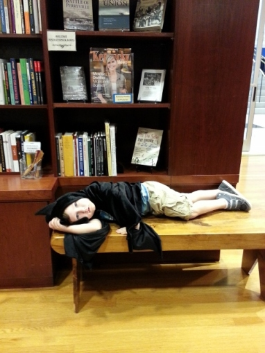 it is hard behaving at bookstores