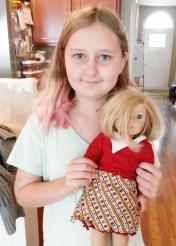 skirt for doll