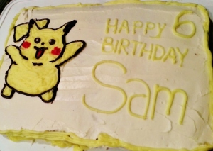 Pikachu birthday