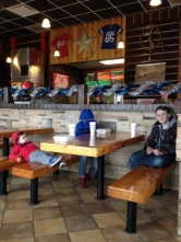 lunch at Cookout