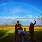 rainbow at Cindy's