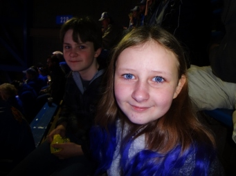 Sparkles at UK game