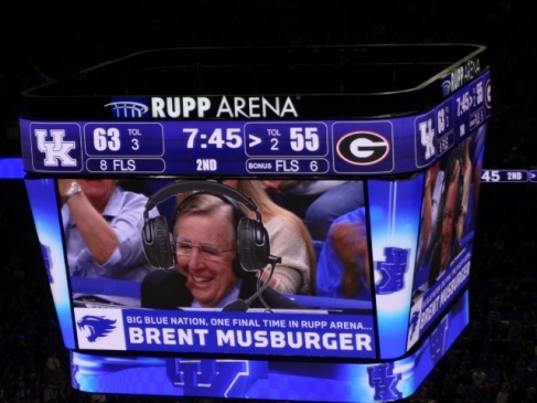The end of an era...Musburger's last called game
