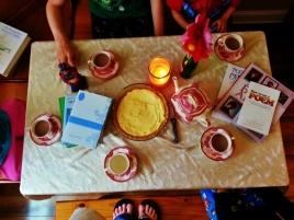last week's poetry breakfast