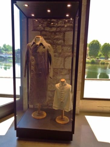 Napoleon's coat and shirt