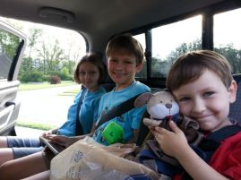 Younger three ready to leave