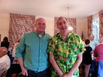 Kentucky authors Kurt Robinson and Ron Elliott