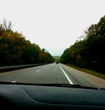 fall colors on the way to Louisville