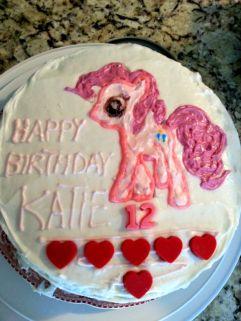 Sparkles birthday cake