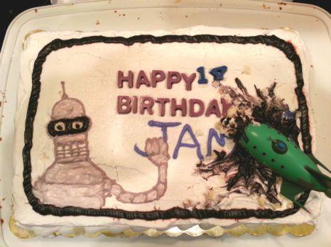 Oldest's birthday cake