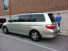 I can parallel park!