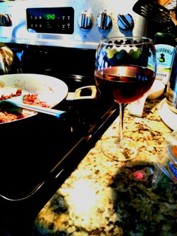 wine and cooking
