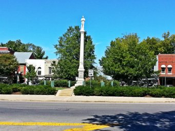 Chip the monument to the unknown Confederate soldier