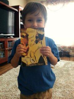 loving his new read aloud