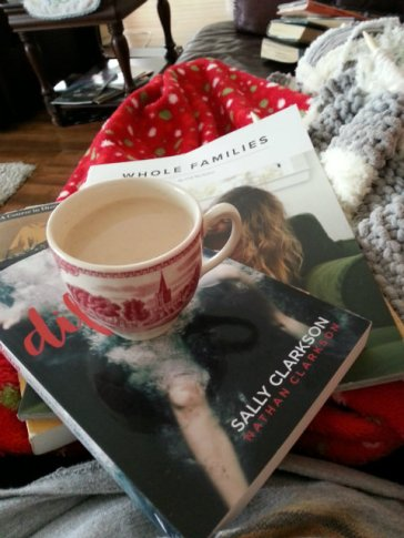 sick day reading and tea