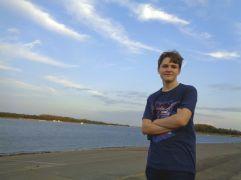 James at the river in Paducah