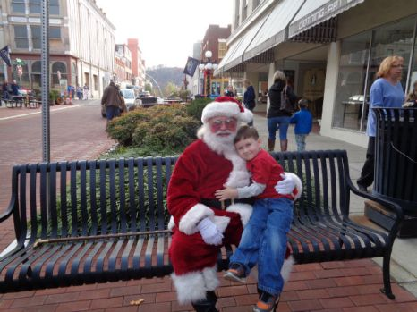 Littlest and Santa