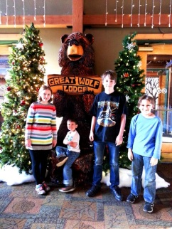 Pictures from Great Wolf Lodge