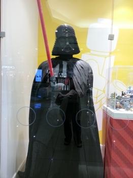 Darth Vader in Legos