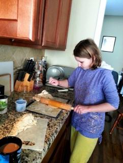 yeaching Sparkles to make dumplings