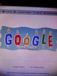 Google wished me a happy birthday and I was creeped out enough to dream about living off grid