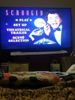 it isn't Christmas without Scrooged