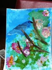 Middle Boy's bluebird
