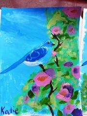 Sparkles' bluebird