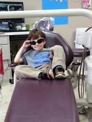 dentist visit...no cavities!