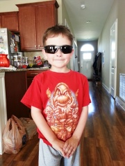 he dressed himself
