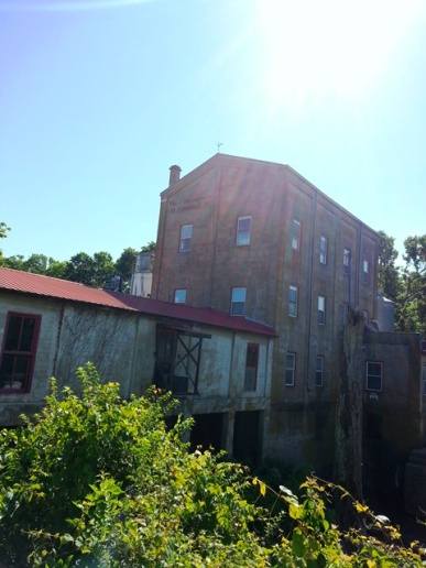 Weisenberger Mill, oldest commercial mill in Kentucky and where I get my flour