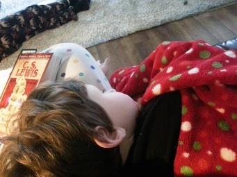read aloud cuddles and nap
