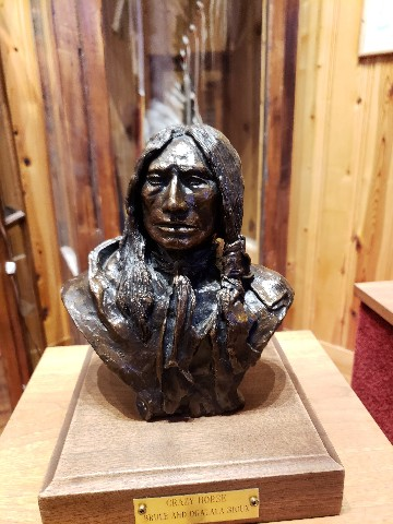bust of Crazy Horse