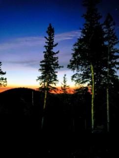waiting for my last sunrise