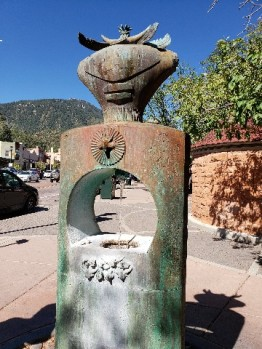 Manitou Springs has naturally carbonated water