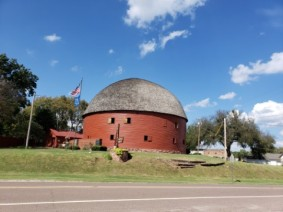 famous round barn