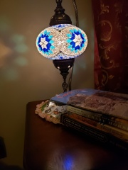 my Turkish lamp