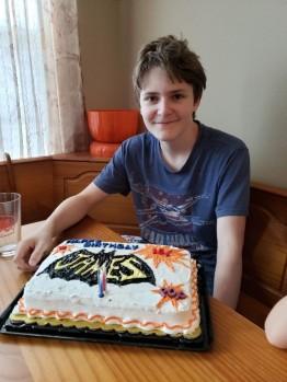 he is 15!!!
