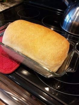 glad to have the time to make homemade bread again
