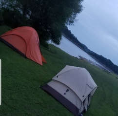 camping at Green River