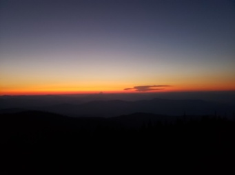 Clingmans's Dome at sunrise